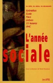 L'Annee Sociale - Couverture - Format classique