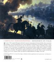 Bonaparte en Italie 1796-1797 ; naissance d'un stratège - 4ème de couverture - Format classique