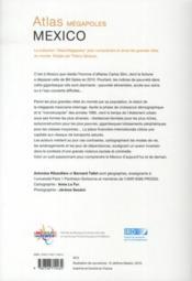 Mexico - 4ème de couverture - Format classique