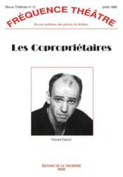 Revue Frequence Theatre N.12 ; Les Copropriétaires - Couverture - Format classique