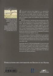 Jean Laignel Antiquitez du Havre de Grâce ; une histoire du Havre inédite écrite en 1712 - 4ème de couverture - Format classique