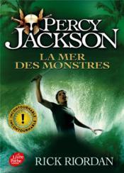 Percy Jackson T.2 ; la mer des monstres - Couverture - Format classique
