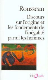 Discours sur l'origine et les fondements de l'inegalite parmi les hommes - Intérieur - Format classique