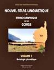 Nouvel atlas linguistique de la Corse t.1 - Intérieur - Format classique