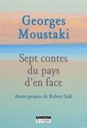 Sept contes du pays d'en face - Couverture - Format classique