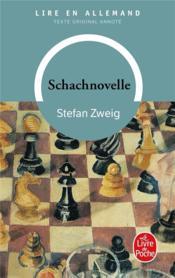 telecharger Le joueur d'echecs – Schachnovelle livre PDF en ligne gratuit