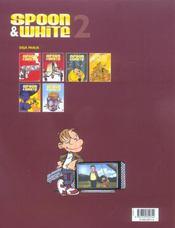 Spoon & White t.2 ; à gore et à cris - 4ème de couverture - Format classique
