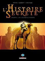L'histoire secrète t.8 ; les 7 piliers de la sagesse - Intérieur - Format classique
