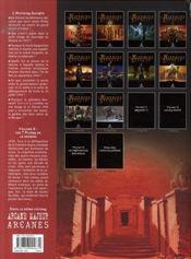 L'histoire secrète T.8 ; les 7 piliers de la sagesse - 4ème de couverture - Format classique