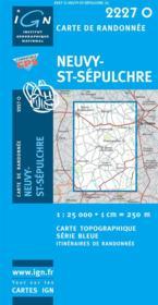 Neuvy-St-Sepulchre - Couverture - Format classique