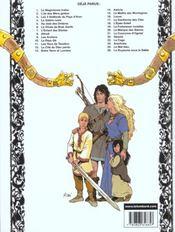 Thorgal T.26 ; le royaume sous le sable - 4ème de couverture - Format classique
