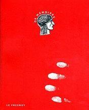 De Memoires - Couverture - Format classique