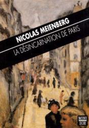 La désincarnation de Paris - Couverture - Format classique