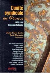 Unité syndicale en France - Couverture - Format classique
