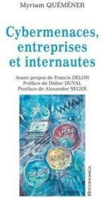 Cybermenaces, Entreprises Et Internautes - Couverture - Format classique