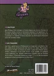 Les traders - 4ème de couverture - Format classique