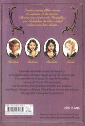 telecharger Les colombes du Roi-Soleil T.3 – Charlotte, la rebelle livre PDF en ligne gratuit