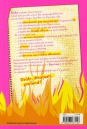 Journal d'une allumeuse - 4ème de couverture - Format classique