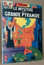 Le mystere de la pyramide 2e partie - Couverture - Format classique