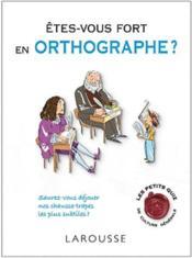 telecharger Etes-vous fort en orthographe ? livre PDF en ligne gratuit