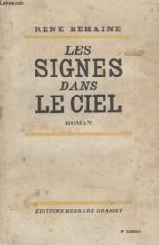 Les Signes Dans Le Ciel. - Couverture - Format classique