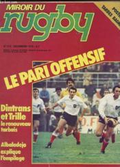 Miroir Du Rugby N° 219 - Le Pari Offensif - Couverture - Format classique