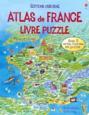 Atlas de france - Couverture - Format classique