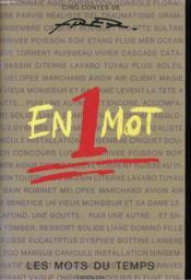 En 1 Mot - Cinq Contes De Fred - Les Mots Du Temps - Couverture - Format classique