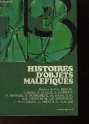 13 Histoires D'Objets Malefiques - Couverture - Format classique