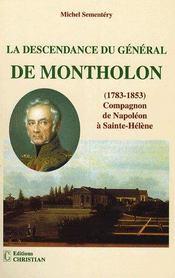 La descendance du général de montholon - Intérieur - Format classique