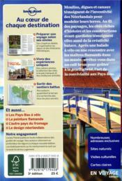 Pays-Bas (3e édition) - 4ème de couverture - Format classique
