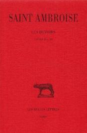 Les devoirs t.2 ; livres 2 et 3 - Couverture - Format classique