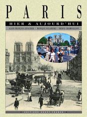 Paris hier et aujourd'hui - Intérieur - Format classique