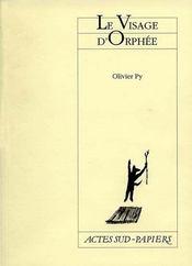 Le Visage D'Orphee - Intérieur - Format classique