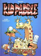 Kid Paddle t.5 ; alien chantilly - Intérieur - Format classique