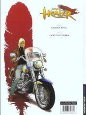 James Healer t.1 ; Camden Rock - 4ème de couverture - Format classique
