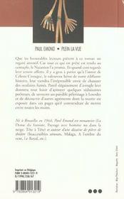 Plein La Vue - 4ème de couverture - Format classique