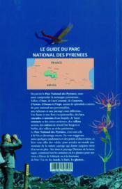 Guide du parc national des Pyrénées - 4ème de couverture - Format classique