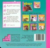 Le Poney - 4ème de couverture - Format classique