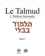 Talmud ; Babli Sota 1 t.17 - Couverture - Format classique