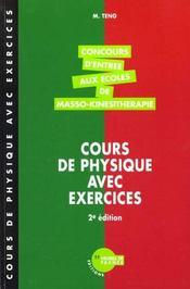 Cours De Physique Annales Corrigees 1996/1997- 2eme Edition - Intérieur - Format classique