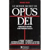 Monde Secret De Opus Dei - Couverture - Format classique