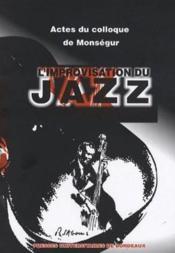 L'improvisation du jazz - Couverture - Format classique