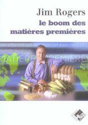 Le boom des matieres premieres - Intérieur - Format classique