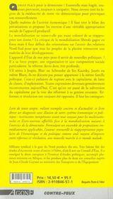 Reformes & revolutions - 4ème de couverture - Format classique