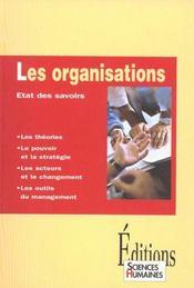 Les Organisations : Etat Des Savoirs - Intérieur - Format classique