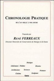 Chronologie pratique de l'an mille à nos jours - Couverture - Format classique