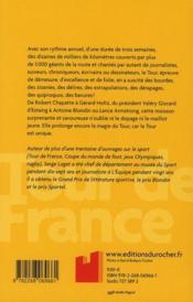 Le bêtisier du Tour de France - 4ème de couverture - Format classique