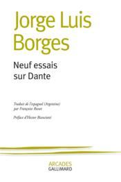 Neuf essais sur Dante - Couverture - Format classique