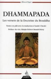Le dhammapada - Couverture - Format classique